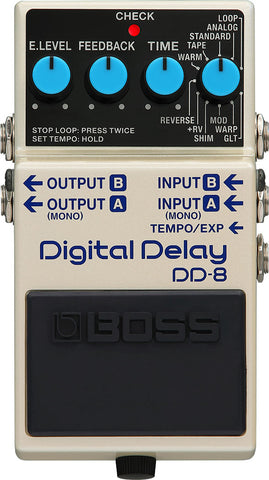 Boss DD-8 Delay Pedal