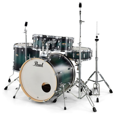 Pearl Decade Maple 22'' Am Fusion W/ Hardware Pack, Deep Forest Green