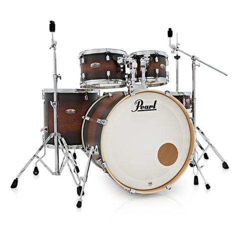 Pearl Decade Maple 22'' Am Fusion W/ Hardware Pack, Satin Brown Burst