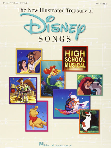 The New Illustrated Treasury Of Disney Songs 6th Edition