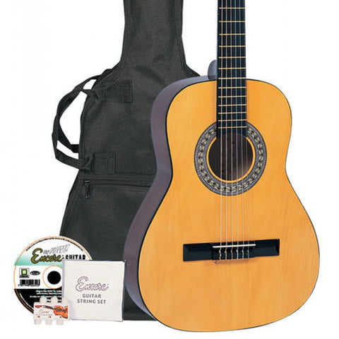 Encore 3/4 Classical Guitar Pack