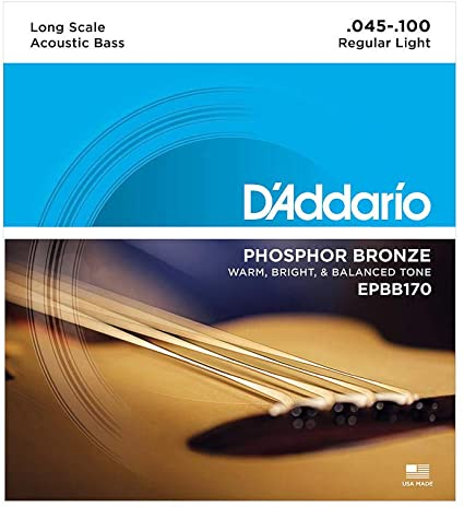 D'addario EPBB170 Phospher Bronze Acoustic Bass Strings