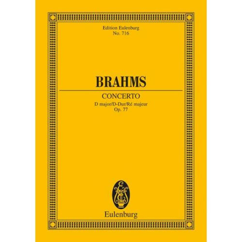 Brahms Violin Concerto in D major Op.77