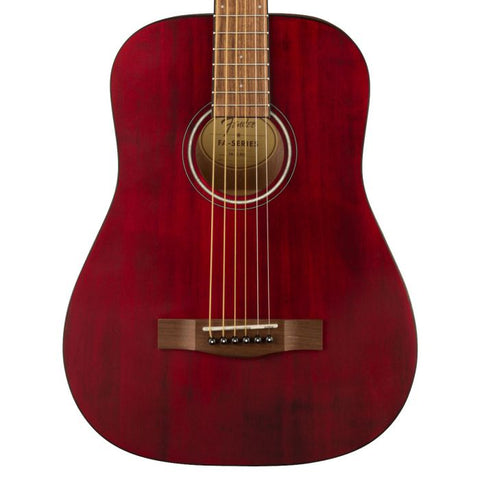 Fender FA-15 3/4 Acoustic Red
