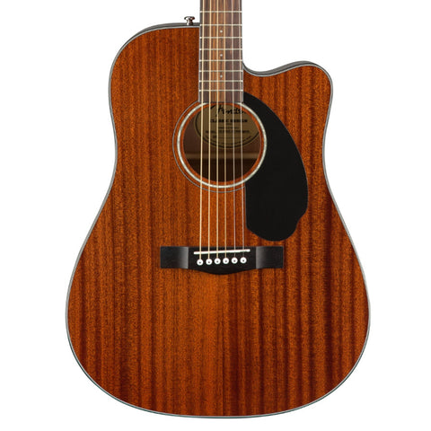 Fender CD-60SCE All-Mahogany Electro Acoustic Guitar
