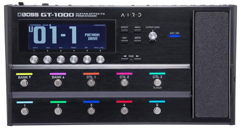 Boss GT-1000 Guitar Multi Effects Processor