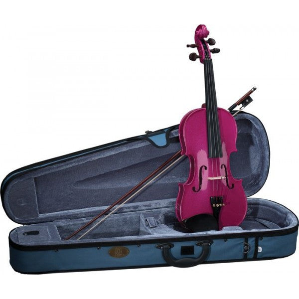 Stentor Harlequin Violin Outfit 1/2 Size Pink