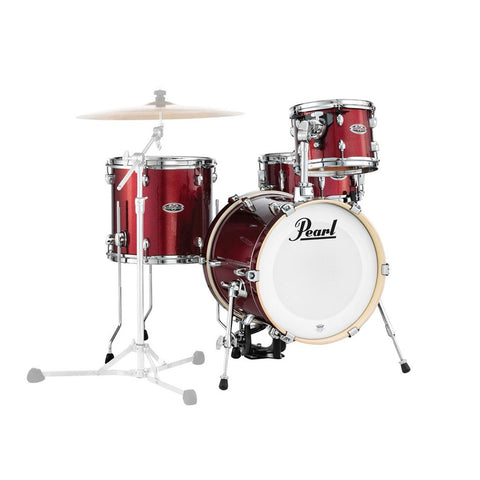 Pearl Midtown Shell Pack Black Cherry
