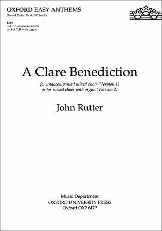 Rutter A Clare Benediction