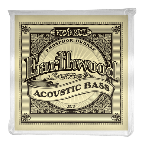Ernie Ball Earthwood Phosphor Bronze Acoustic Bass Strings