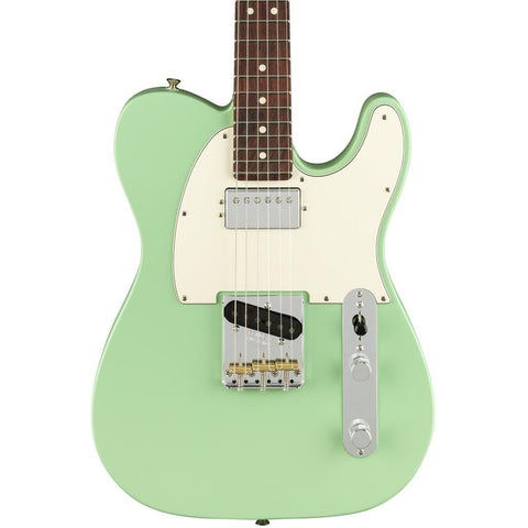 Fender American Performer Telecaster Humbucker, Satin Surf Green