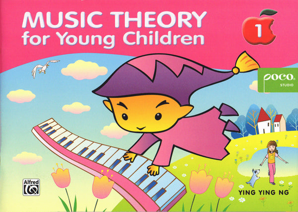 Music Theory For Young Children - Book 1 (Revised Edition) from Poco Studio