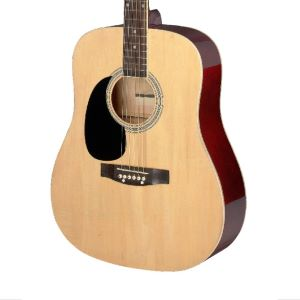 Stagg SA20D Left Handed 3/4 Size Dreadnought Pack