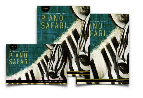 Piano Safari Level 2 Pack