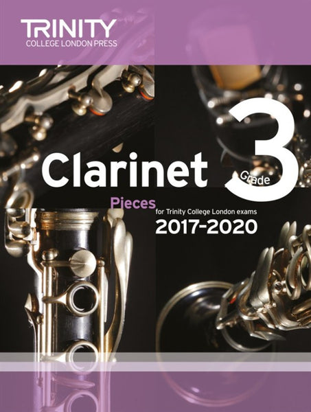 Trinity College London Clarinet Exam 2017-2020 Grade 3 Score & Part