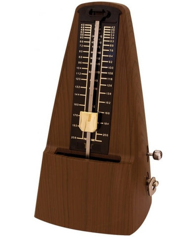 TGI Traditional Metronome Wood Effect With Bell