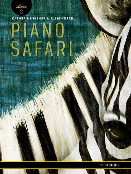 Piano Safari Level 2 Technique Book 2