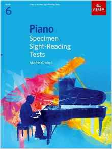 ABRSM Piano Specimen Sight Reading Tests Grade 6