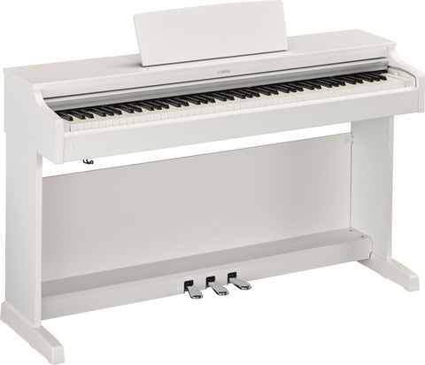 Yamaha YDP163 White Digital Piano