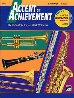 Accent on Achievement Trumpet Book 1