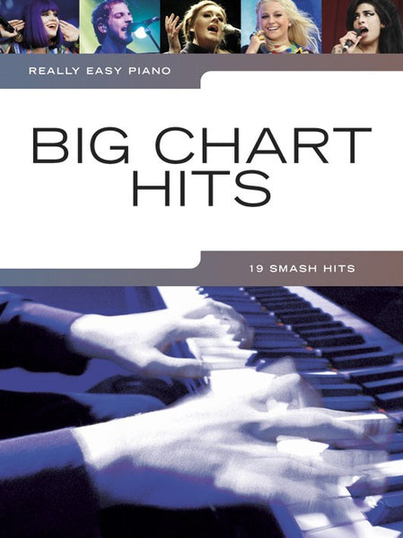 Really Easy Piano Big Chart Hits