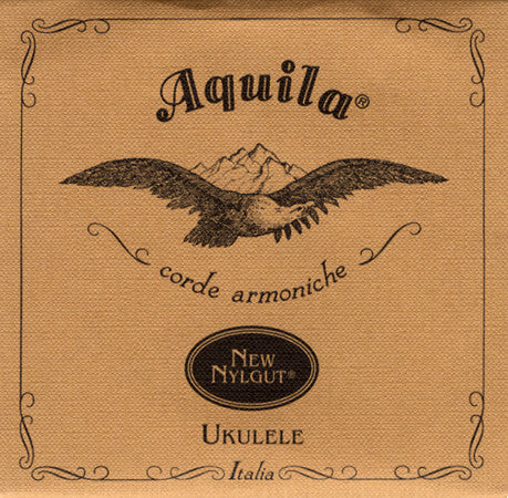 Aquila Nylgut Tenor Ukulele Strings - high G tuning