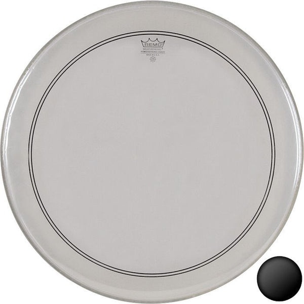 "Remo Powerstroke III 20"" Clear"