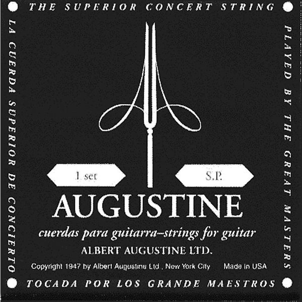 Augustine Black Label Classical Guitar Strings