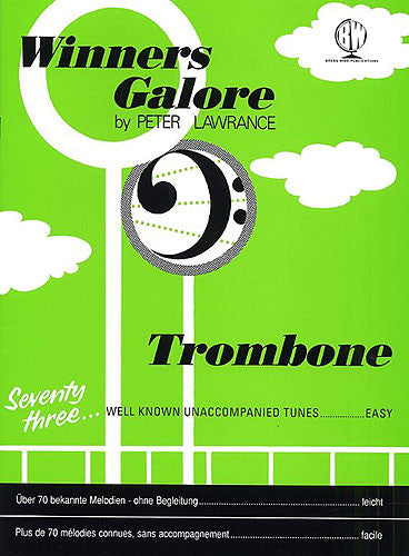 Winners Galore For Trombone (Bass Clef)