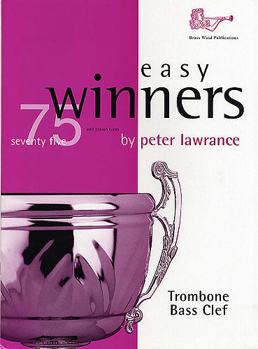 Easy Winners For Trombone (Bass Clef)