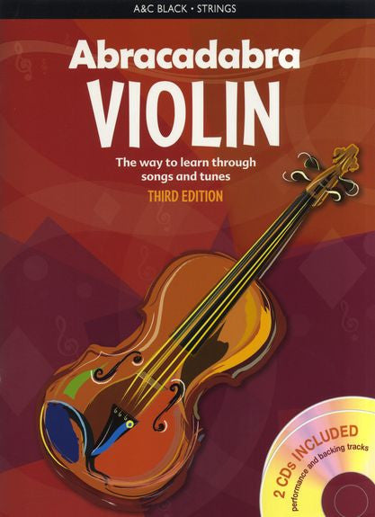 Abracadabra Violin Book 1 Book/2 CDs