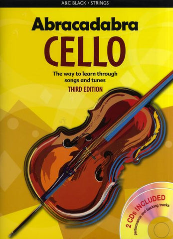 Abracadabra Cello Book and CD