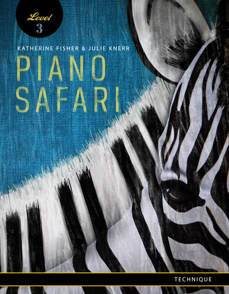Piano Safari Level 3 Technique Book 3