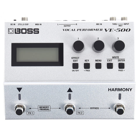 Boss VE-500 Vocal Performer Vocal Processor