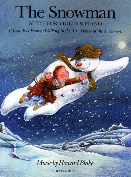 Howard Blake The Snowman Suite Violin and Piano