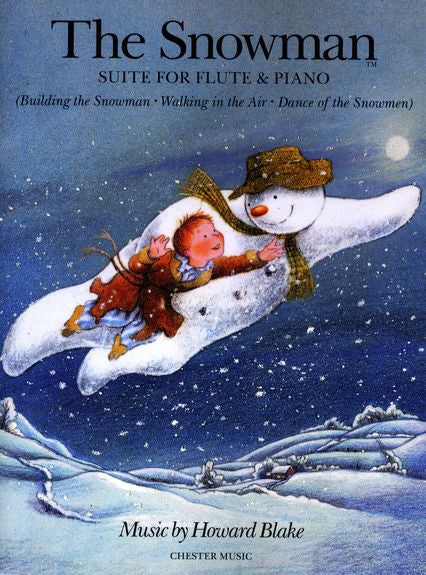 Howard Blake The Snowman Suite Flute and Piano