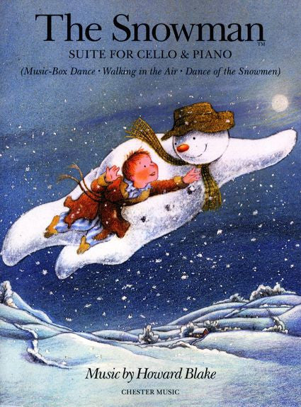 Howard Blake The Snowman Suite Cello and Piano