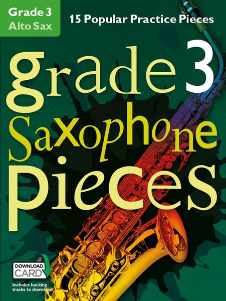 Grade 3 Alto Saxophone Pieces Book & Audio Download