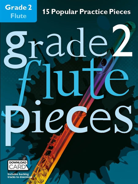Grade 2 Flute Pieces Book & Audio Download