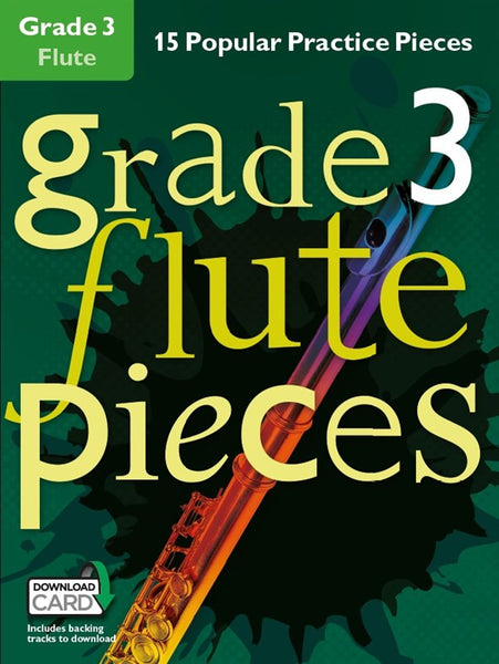 Grade 3 Flute Pieces Book & Audio Download