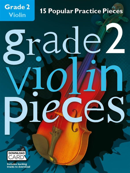 Grade 2 Violin Pieces Book & Audio Download