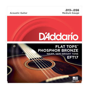 D'addario EFT17 Flat Tops Strings
