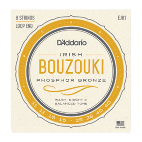 D'Addario J81 Irish Bouzouki Set