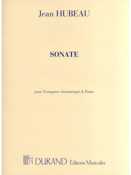 Hubeau Sonate Trumpet and Piano