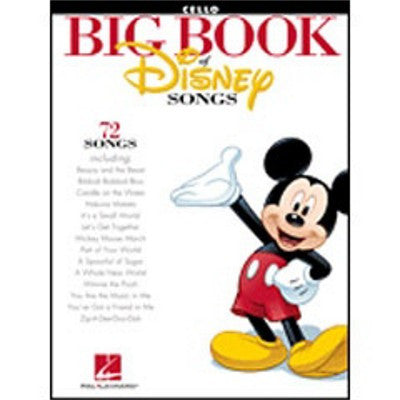The Big Book Of Disney Songs Cello