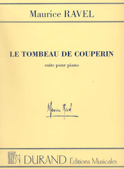 Ravel Le Tombeau De Couperin