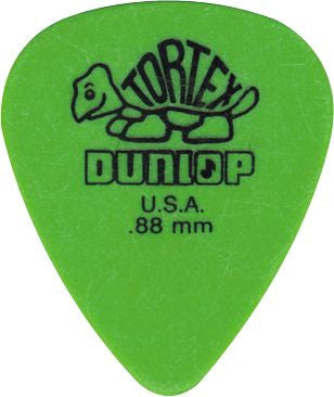 Jim Dunlop Tortex Picks 0.88 12 Pack