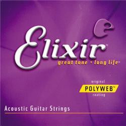 Elixir Polyweb Acoustic Strings Medium