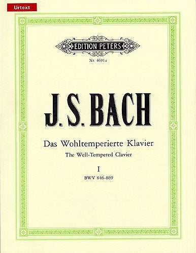 Bach The Well Tempered Clavier Book 1