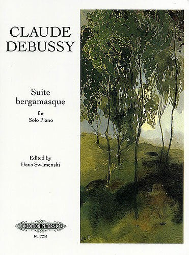 Debussy Suite Bergamasque for Piano